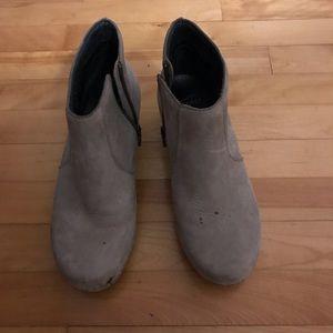 Size 39 Dansko booties in good condition